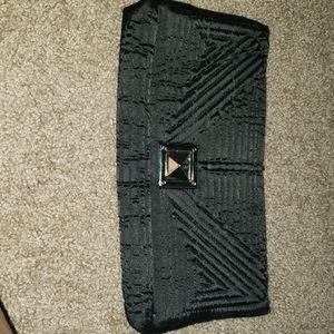 Black cloth purse